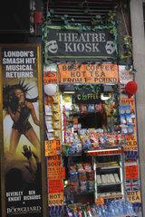 Kiosk in London