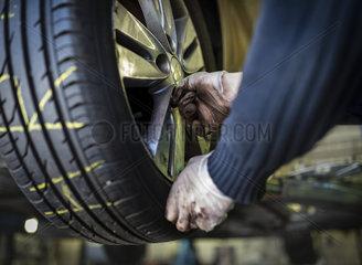 Reifenwechsel PKW