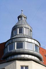 Berlin  Erkerturm an einer Hausecke