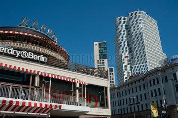 Berlin  Deutschland  Cafe Kranzler am Kurfuerstendamm