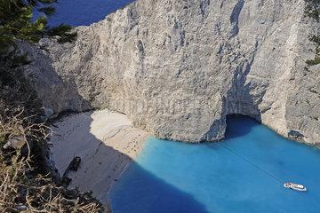 Griechenland  Zakynthos- Shipwreck Beach