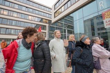 Demonstration gegen Paragraph 219a