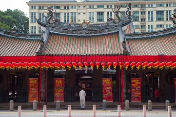 Singapur  Republik Singapur  Thian Hock Keng Tempel in Chinatown