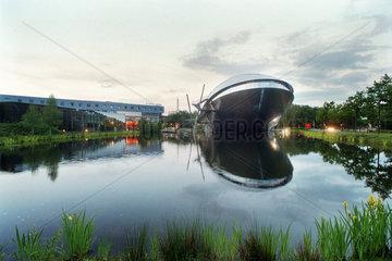 Blick zum Universum Science Center Bremen