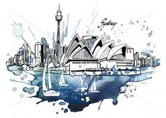 Serie Staedte Sydney