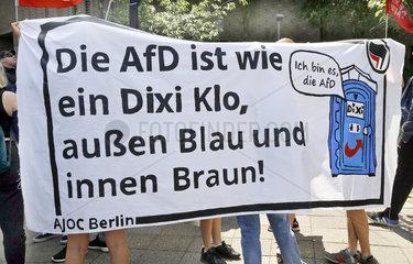 Demonstration gegen Neure Rechte und die AfD