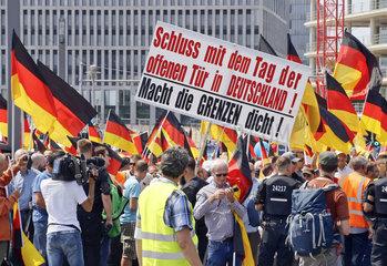 AFD-Demonstration Zukunft Deutschland