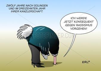 Merkel Kampf gegen Rassismus