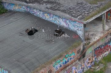 Itzehoe  Deutschland  ehemalige Schmiede auf dem Gelaende der frueheren ALSEN-Zementwerke