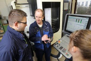 Flensburg  Deutschland  Ausbildung zum Elektroniker an der Handelskammer Flensburg