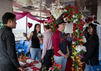 MEXICO-MEXICO CITY-VALENTINE'S DAY