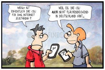 Breitband-Ausbau in Deutschland