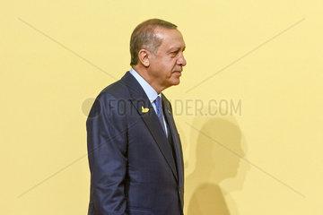 Recep Tayyip Erdogan  Praesident Tuerkei