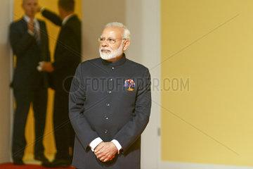 Narendra Modi  Premierminister der Republik Indien