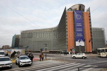 Bruessel  Region Bruessel-Hauptstadt  Belgien - Das Berlaymont-Gebaeude  Sitz der Europaeischen Kommission.