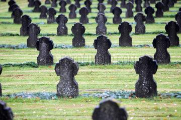 Flensburg  Deutschland  Soldatengraeber aus dem zweiten Weltkrieg