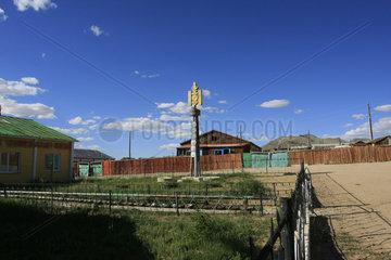 Dorf in der Nordwestliche Mongolei