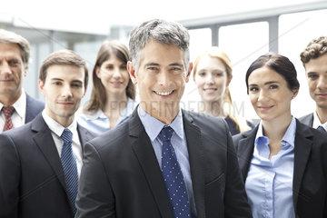 Business executives  portrait