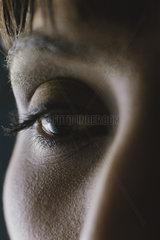 Woman's eye  close-up
