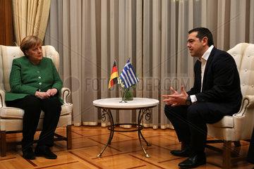GREECE-ATHENS-GERMANY-MERKEL-VISIT