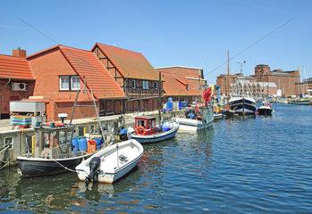 Fischereihafen von Wismar