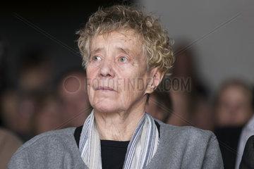 20160421 Foto-Kuenstlerin Anna BLUME Fotokuenstlerin an ihrem 80 Jahre Geburtstag waehrend einer Feier ihr zu Ehren Kolumba-Museum Koeln
