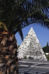 Italy  Rome - Piramide Cestia