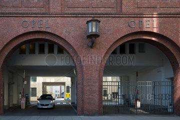 Deutschland  Ruesselsheim  Das alte Stammhaus des Autokonzerns Opel