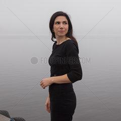 GRIGORCEA  Dana - Portrait of the writer