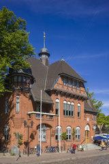 Historisches Rathaus in Burg auf der Insel Fehmarn