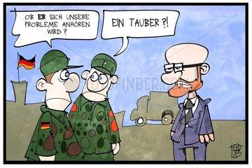Peter Tauber wechselt ins Verteidigungsministerium