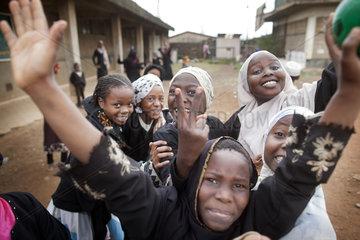Kinder in Nairobi
