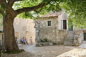 Beli  Kroatien  Ortskern des Dorfes