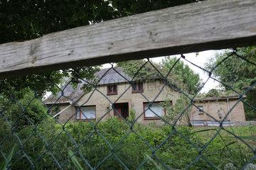 Bergenhusen  Deutschland  verlassenes Haus