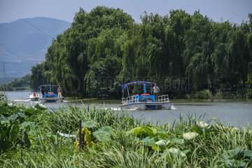 CHINA-ZHEJIANG-HUZHOU-RIVER CHIEF (CN)