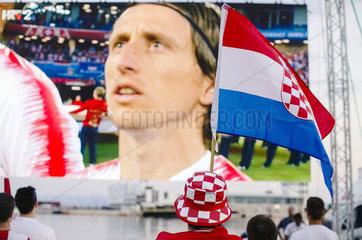 Kroatische Fussballfans