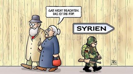Syrien und FDP