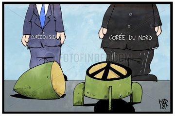 Corée du Nord et Corée du Sud promettent un traité de paix