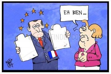 Emmanuel Macron présente sa vision de l'Europe