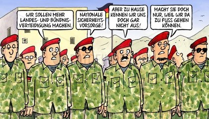 Bundeswehr Umbau