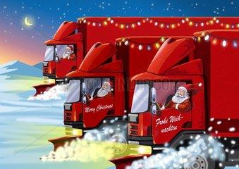 Weihnachtstrucks