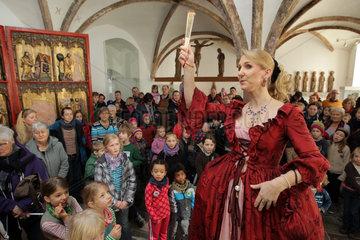 Schleswig  Deutschland  Tag der offenen Tuer im Landesmuseum auf Schloss Gottorf