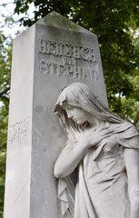 Berlin  das Grab des Heinrich von Stephan