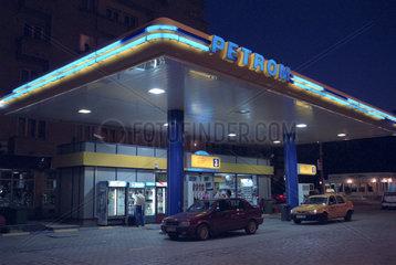 Petrom-Tankstelle in Bukarest