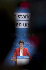 Kramp-Karrenbauer  CDU CSU Policy Platform For European Elections