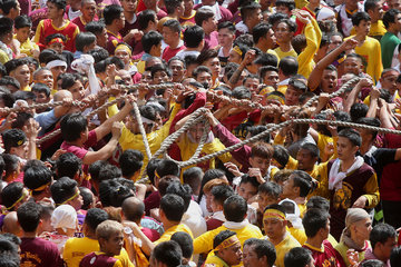PHILIPPINES-MANILA-BLACK NAZARENE-ANNUAL FEAST