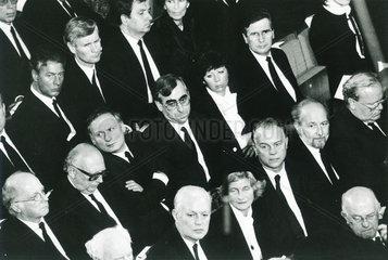 Staatsakt  Trauerfeier zum Tod von Franz Josef Strauss  1988