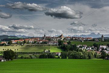 Ortsansicht Romont  Schweiz
