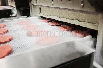Burger Herstellung