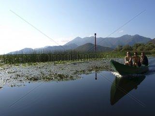 Bootsausflug auf dem Skutari-See  Serbien und Montenegro  Skutari See